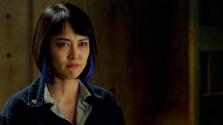 Cast screencaps from Movies and TV Shows: Rinko Kikuchi as Mako Mori in Pacific Rim (2014)