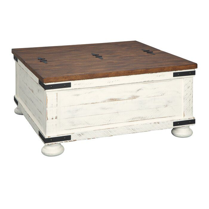 Bromsgrove Coffee Table With Storage Coffee Table Farmhouse