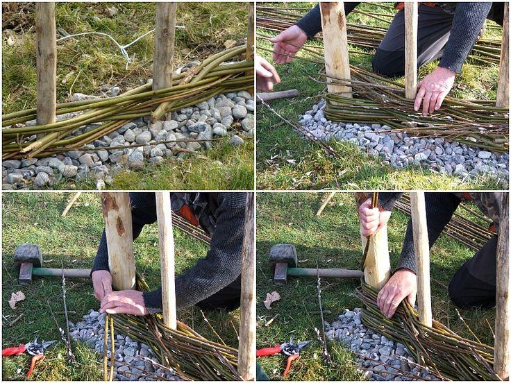 Sie wollen eine Wohlfühloase aus Naturmaterial im eigenen Garten schaffen? Hier finden Sie Tipps, wie Sie einen natürlichen Sichtschutz selber bauen.