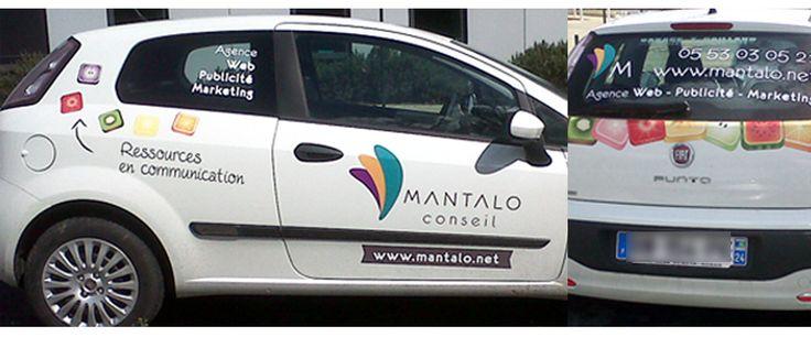 La flotte automobile Mantalo conseil. #Créationgraphique