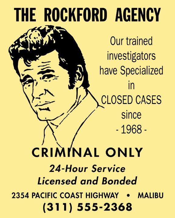 43 Best The Rockford Files Images On Pinterest