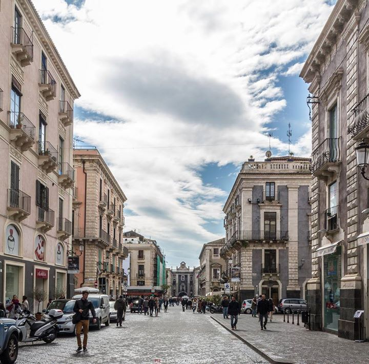 Via Etnea CataniaSicilia