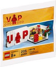 Lego Promo Polybag 40178 Exclusive VIP Set New/Sealed Free Shipping