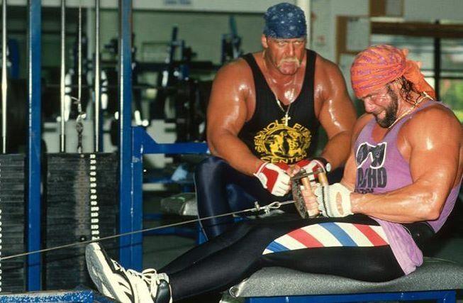 Hulk Hogan Quot Macho Man Quot Randy Savage