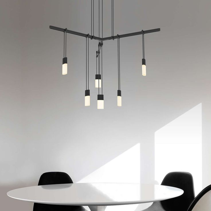 Shown With Etched Chiclet Luminaires In Dining Room