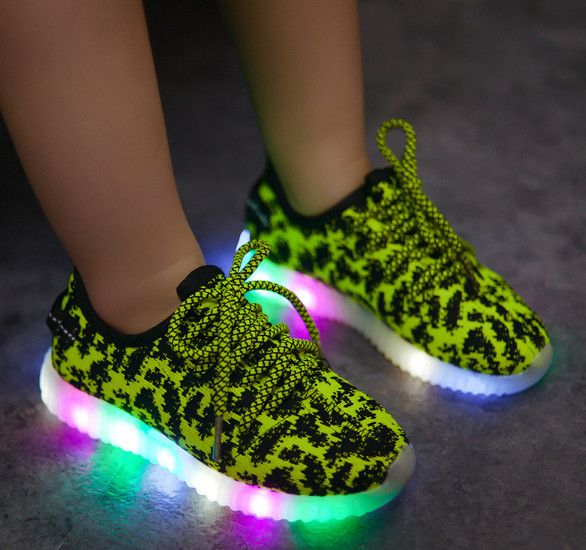 Leopard LED Sneakers
