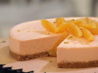 Cheesecake de naranja: Cakes De, Cheese Cakes, Cheesecake De