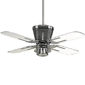Retro Ceiling Fan by Quorum at lumens.com