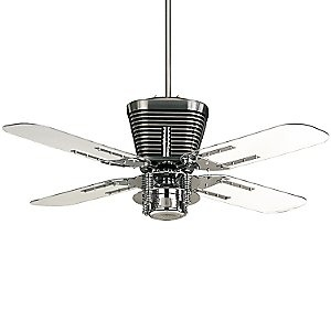 Retro Ceiling Fan by Quorum at lumens.com
