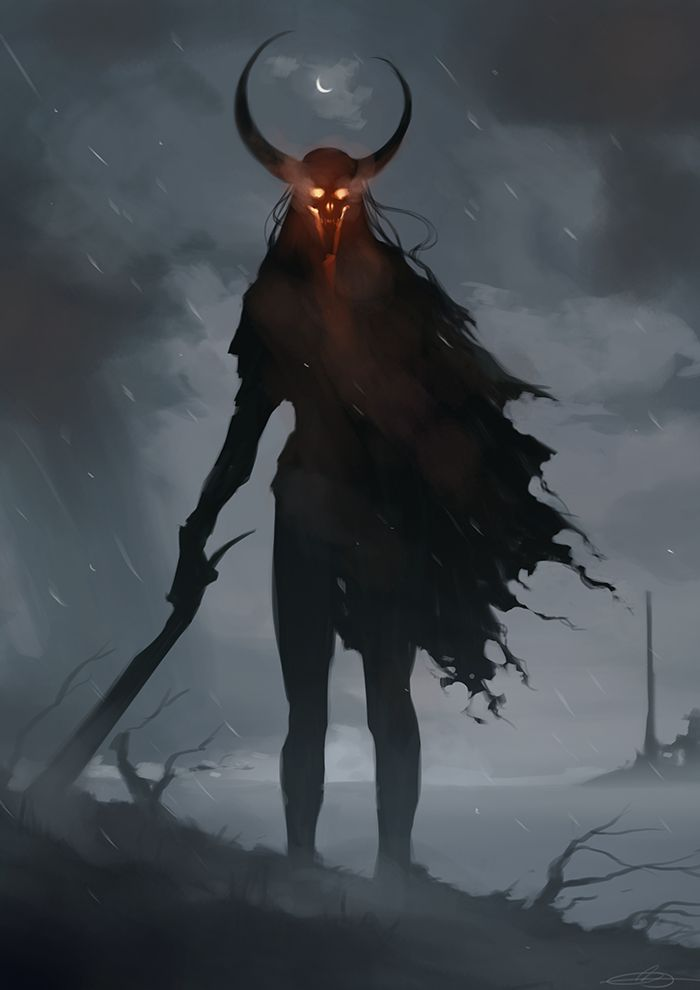 """cyrail: """" Demon 7 by jodeee Featured on Cyrail: Inspiring artworks that make your day better """""""