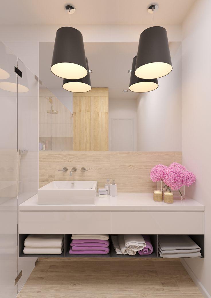 Kúpeľňa v škandinávskom štýle - SVIEŽI BYT