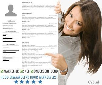 Onze Online CV Maker