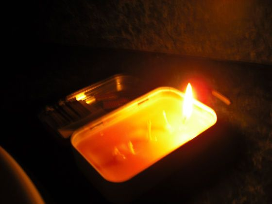 Altoids Tin Emergency Candle
