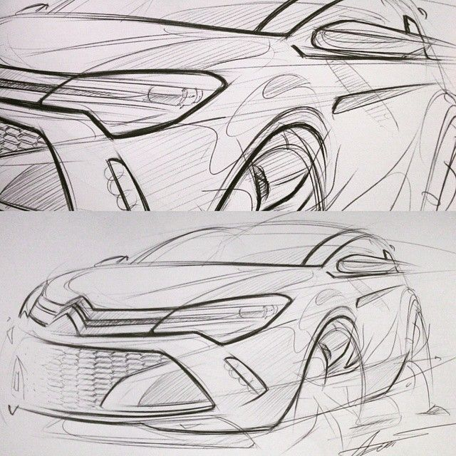 5min lunch sketch #sketch #design #cardesign #transportation #product…