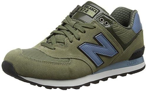 Oferta: 100€ Dto: -36%. Comprar Ofertas de New Balance 574 Zapatillas de Running, Hombre, Multicolor (Green/Blue 344), 40 EU barato. ¡Mira las ofertas!