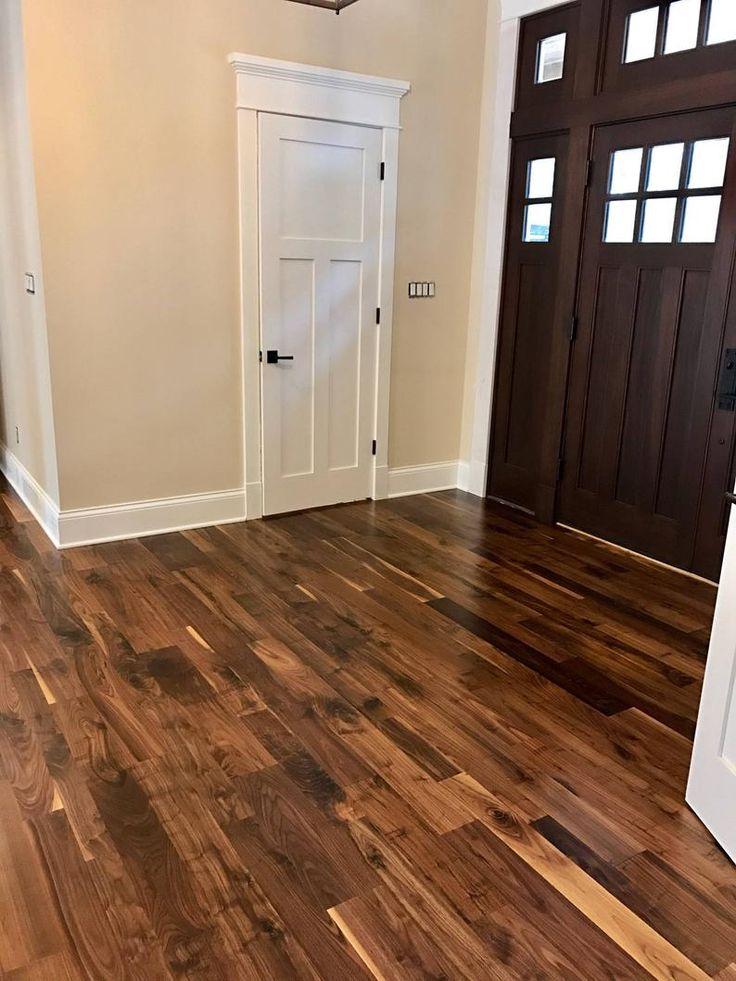 Old Growth Black Walnut Hardwood Flooring round homes in