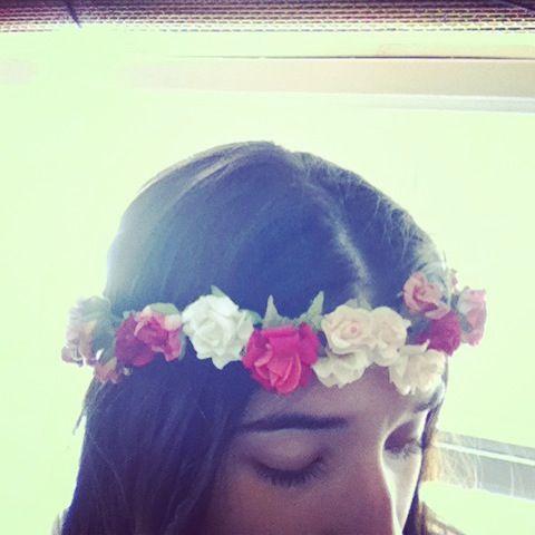 Crowns coronas flores vinchas flowers fashion