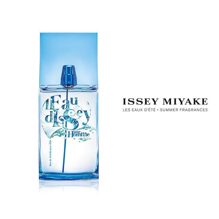 Cool. Blue. New.  Bring in the season with the special Summer Edition of L'Eau d'Issey pour Homme.