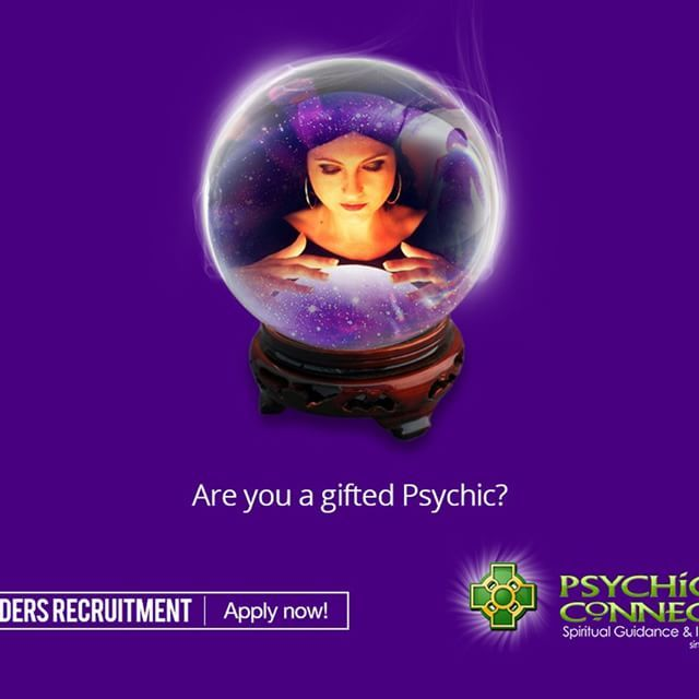If you're a gifted psychic and love working from home on a self-employed basis, and earn a competitive rate per minute we would like to hear from you.    Email us at recruitment@psychicsconnect.com with your qualifications, name, email and contact numbers and someone from our team will be in touch.    #PsychicsConnect #psychicmedium #medium #clairvoyant #healer #psychic