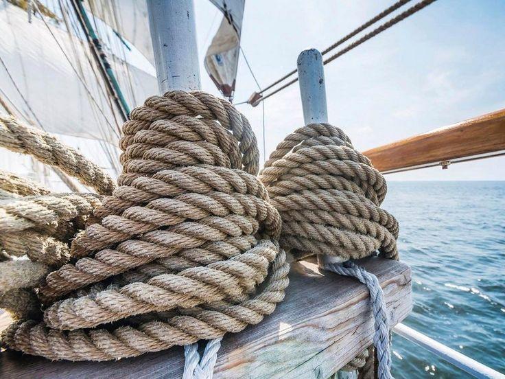 50.- Bild, »Sailing Rope«, 80/60 cm