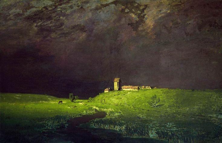 Куинджи. После дождя. 1879