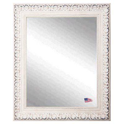 Rayne Mirrors Victorian White Wall Mirror - V039L, Durable