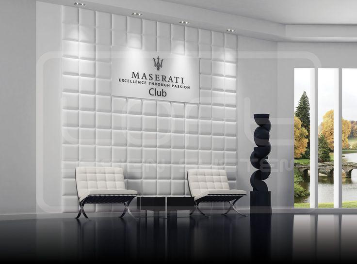 Padding - model 30. Click for more information or to visit our website.  #LoftDesignSystem #loftsystem #Decorativepanels #Inspiration #Interior #Design #wallpanels #3Ddecorativepanels #3dpanels #3dwallpanels #office #officedecorations #Maserati #maseraticlub
