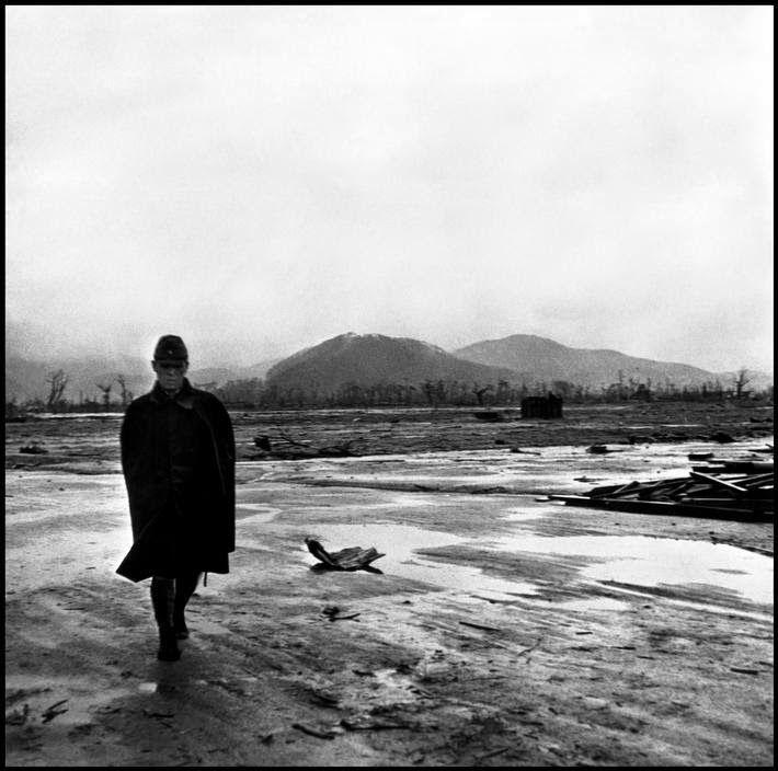 Hiroshima Aftermath, Japan, 1945