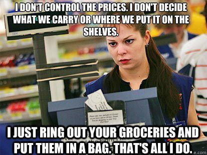 cashiers catholic singles The same is true in business, especially a chainstore will have a hierarchy of managers, janitors, truck drivers, cashiers etc however.