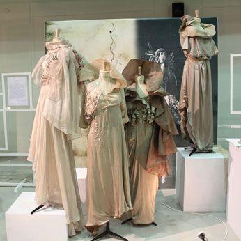 Fashion Mannequin Display on Square Display Plinths