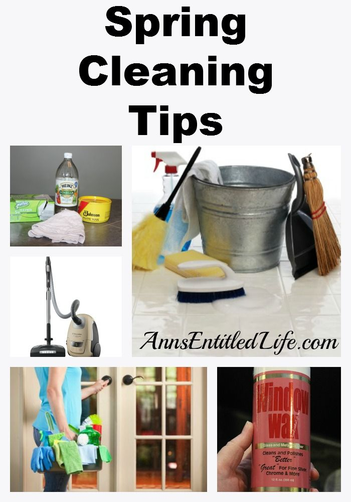 Spring Cleaning Tips Spring Cleaning Cleaning Tips And