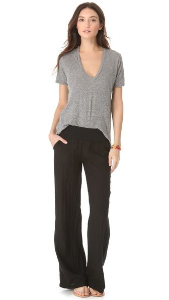 1000  ideas about Black Linen Pants on Pinterest | Summer tunics ...