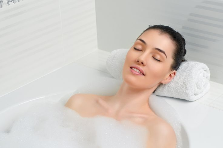 """Create A Relaxing Bedtime Ritual ~~ """"Create a relaxing bedtime ritual, like taking a warm bath or reading a magazine. It's important to unwind before getting into bed."""" -- Dr. David Volpi, founder EOS Sleep Centers"""
