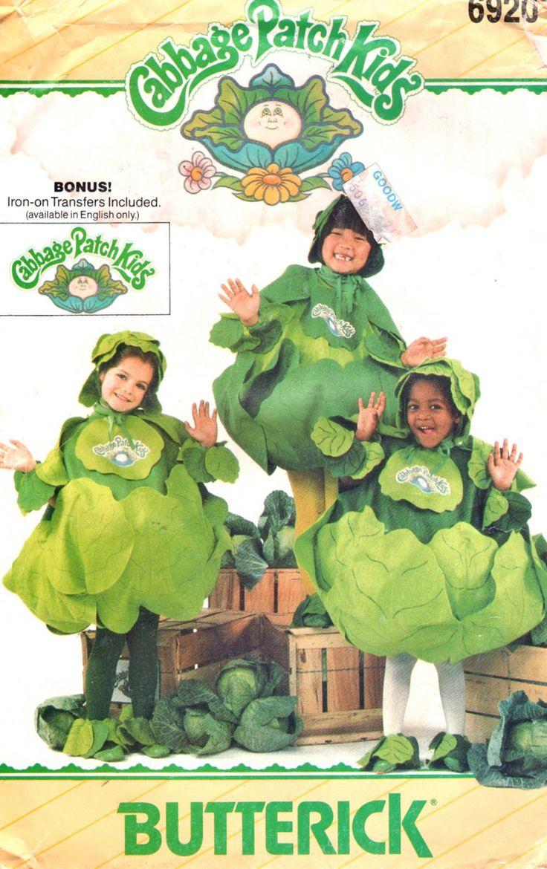 Traje de Butterick 6920 los niños: muy holgado traje tiene cuello espalda y sisa aberturas, hojas de elástico en el borde inferior, Unido, tobillo y