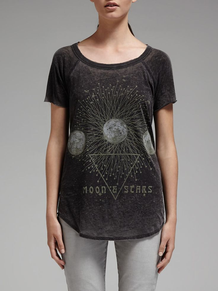 chaser - Mystic Moon Slouch Tee