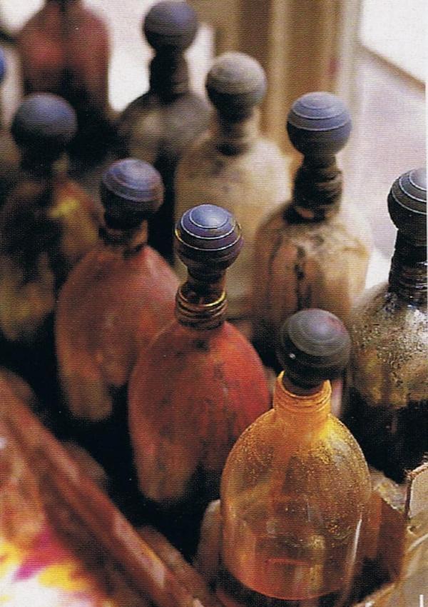 antique French bottles