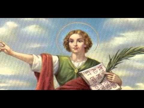 ORACION A SAN PANCRACIO PATRONO DE EMPLEO - YouTube