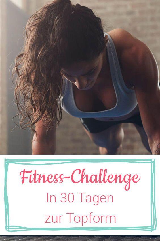 Fitness-Challenge: Mach deinen ganzen Körper in nur 30 Tagen fit
