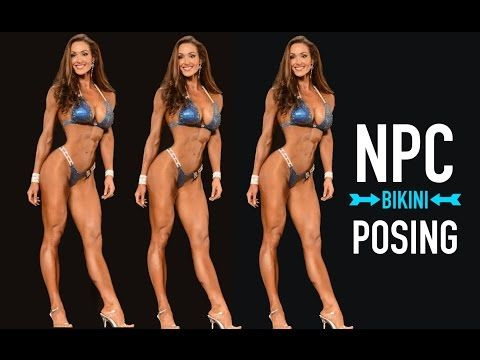 NPC BIKINI POSING TIPS WITH PRO - YouTube