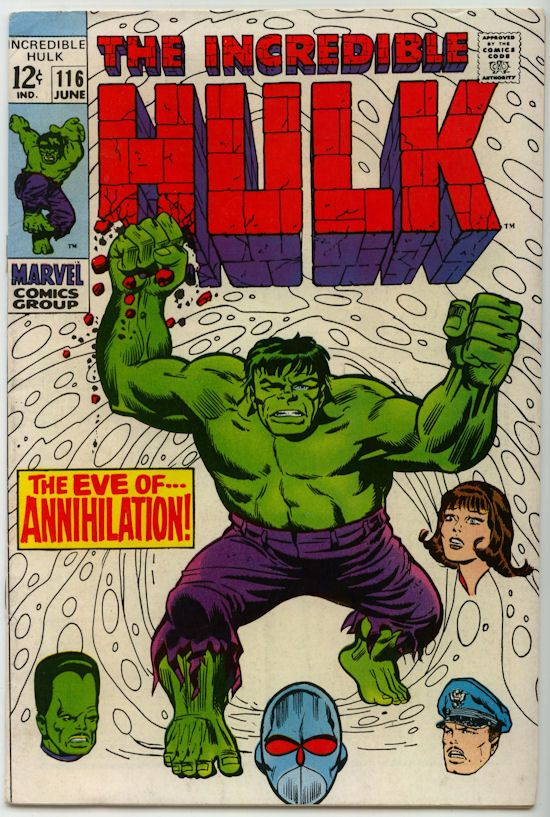 The Incredible Hulk Comic Books For Sale (1968)