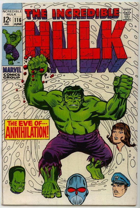The Incredible Hulk Comic Books For Sale (1968)