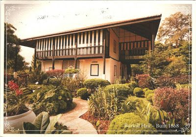 "SINGAPORE -  Burkill Hall - part of ""Singapore Botanic Gardens"" (UNESCO WHS)"