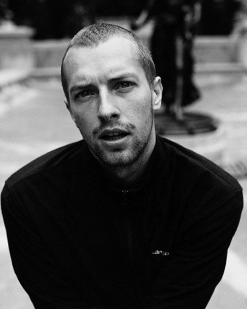 chris martin | coldplay - he should always have a buzz cut! <3