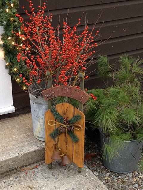 Rustic Christmas Welcome...