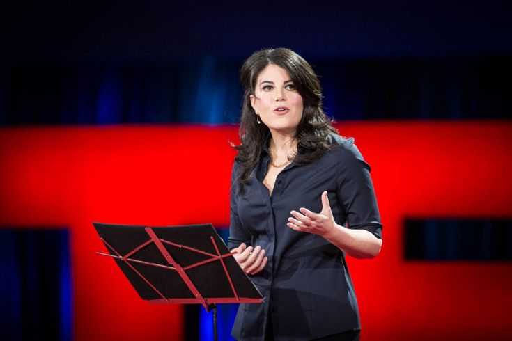 "Monica Lewinsky is one of very few people over the age of 40 who has no interest in being 22 again. ""At the age of 22, I fell in love with my boss,"" she says bluntly as she begins her talk on the T…"