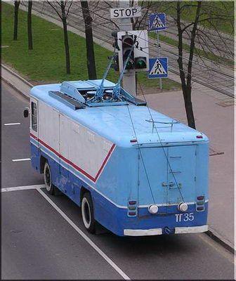 грузовые троллейбусы