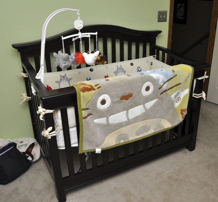 Aaaaaa!!!!! NakaKon: Totoro Bedding and Nursery Update