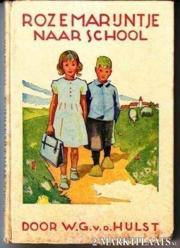 Rozemarijntje naar school. door W. G. van de Hulst.