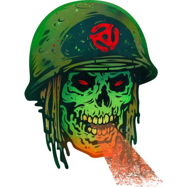 45 Death Soldier is a Sticker designed by BeeryMethod to illustrate your life and is available at Design By Humans