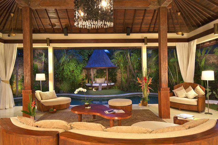 Villa 999 living at Villa Kubu, Seminyak, Bali
